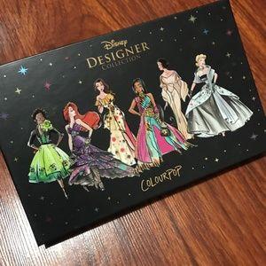 colourpop x disney princesses eyeshadow palette
